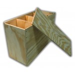 Plywood Box for carrying/storing traps (specify what size needed - Photo example only)